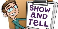 SHOW AND TELL - Send a photo of something that interests you and tell us about it...