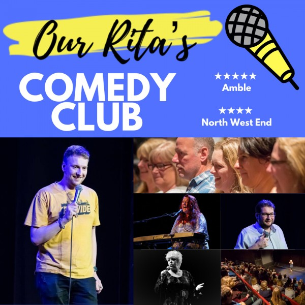BRAND NEW COMPETITION: WIN Two Pairs of Tickets to see Rita's Comedy Club