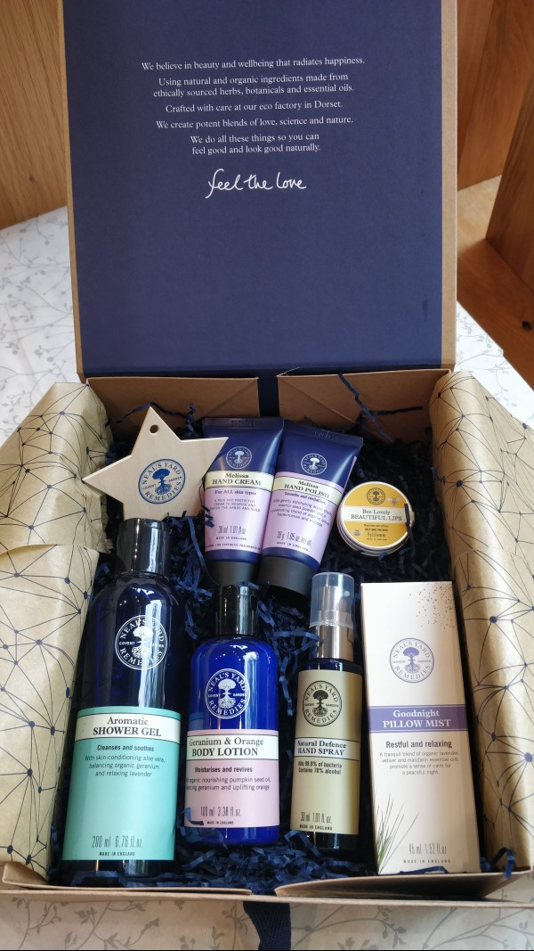 COMPETITION - WIN a Goody Box of Products from Neal's Yard worth £60