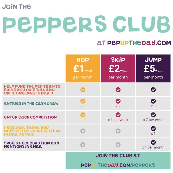 Join the Peppers Club