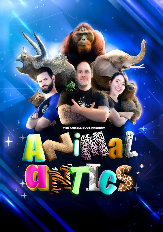 BRAND NEW COMPETITION: WIN a Family Bundle of tickets (2x Adults and 2x Children) for Animal Antics