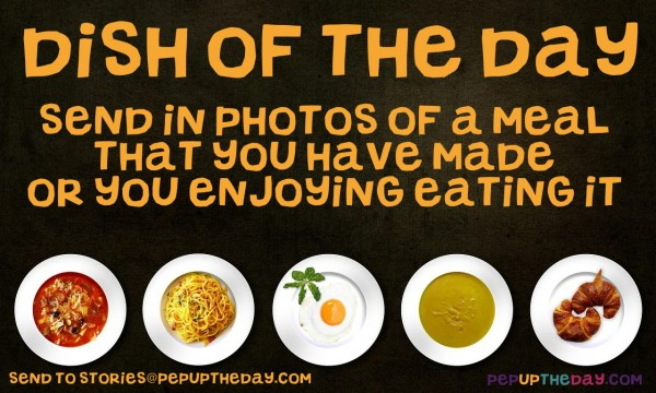 dish of the day pepuptheday.com