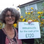 CASH PRIZE WINNER - Sue won £120 in the weekly www.glos.info newsletter. Make sure you are signed up to be in with a chance of winning!
