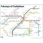 COMPETITION - WIN a Pubstops of Cheltenham Poster