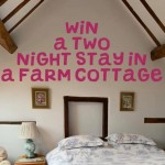 COMPETITION: Win a 2 night stay - worth £200 - in one of the cottages at Middletown Farm