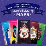 PRODUCT OF THE WEEK: Marvellous Maps of Great Britain - Adventure, Place Names, Literature, Food & Drink, Film & TV, Music